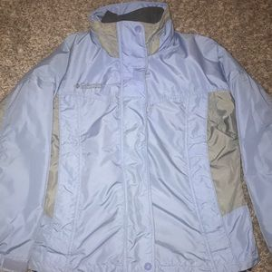 Two in one Columbia winter jacket
